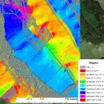 Topography of prospective vineyard land